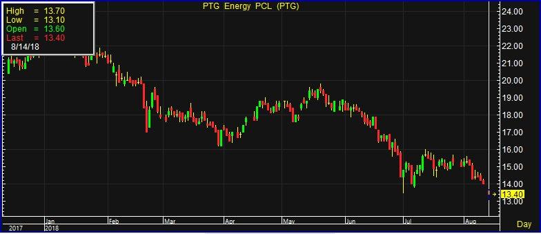 PTG Slipped! Shares Sank 4% after the Financial Statement of